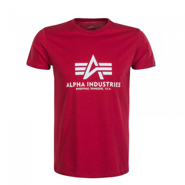 Herren T-Shirt Basic RBF Red