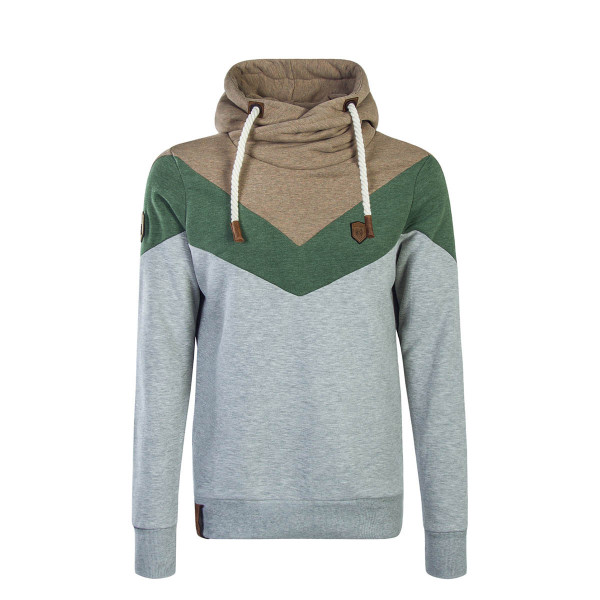Naketano Hoody Kifferboarder Grey Brown
