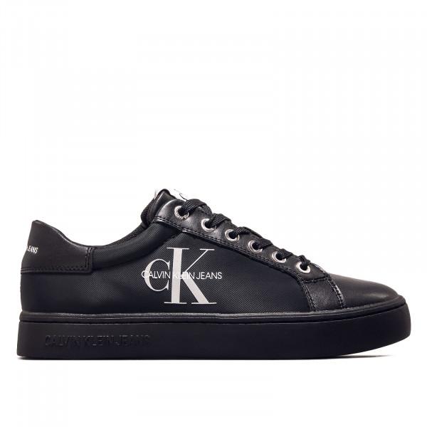 Damen Sneaker - Cupsole Sneaker Laceup Pu-NY Full - Black