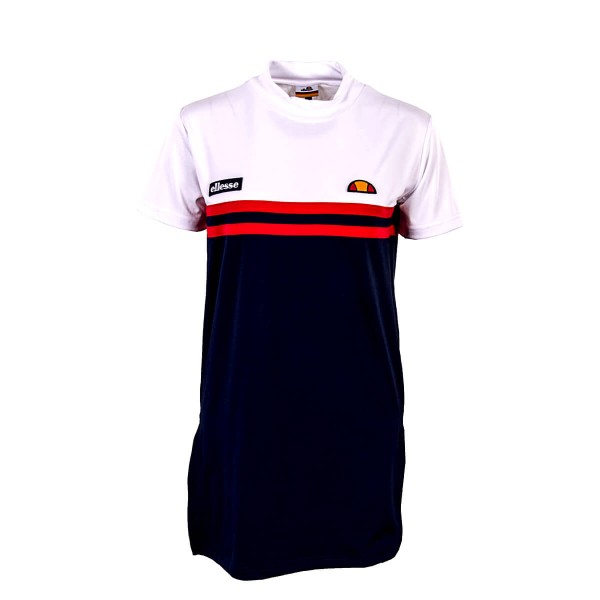 Ellesse Dress Silko Navy White Red
