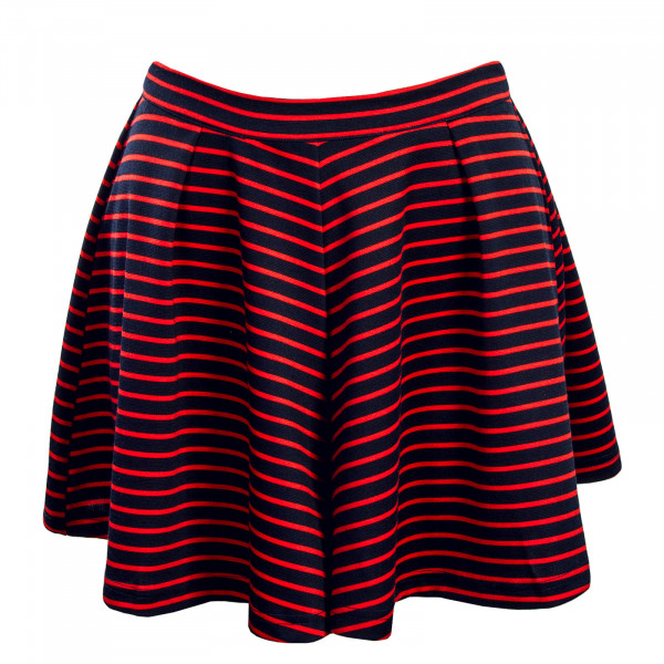 Only Short Esra Stripe Navy Red