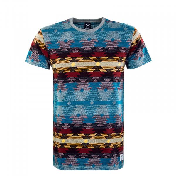 Herren T-Shirt - Santania - Charcoal / Melange