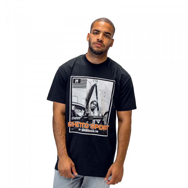 Herren T-Shirt Young Gunna Star