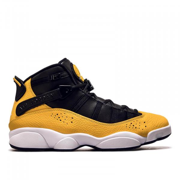 Herren Sneaker 6 Rings Black Yellow