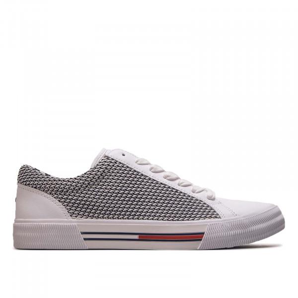 Herren Sneaker Textil City 199 White