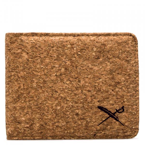 Wallet - Cork Flag - Light Brown