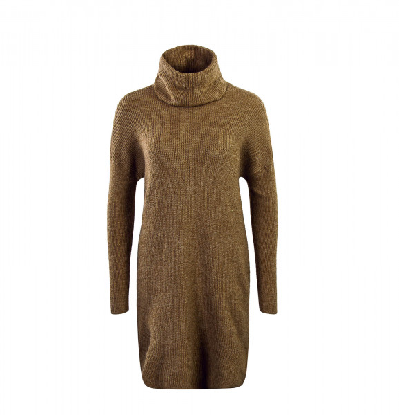 Only Dress Knit Jana Cowlneck Brown