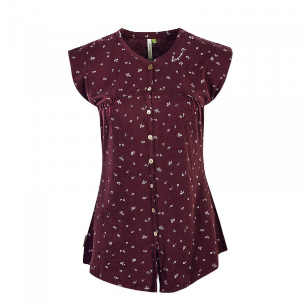 Damen Top Zofka Bordeaux