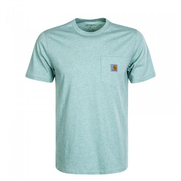 Herren T-Shirt Pocket Zola Green
