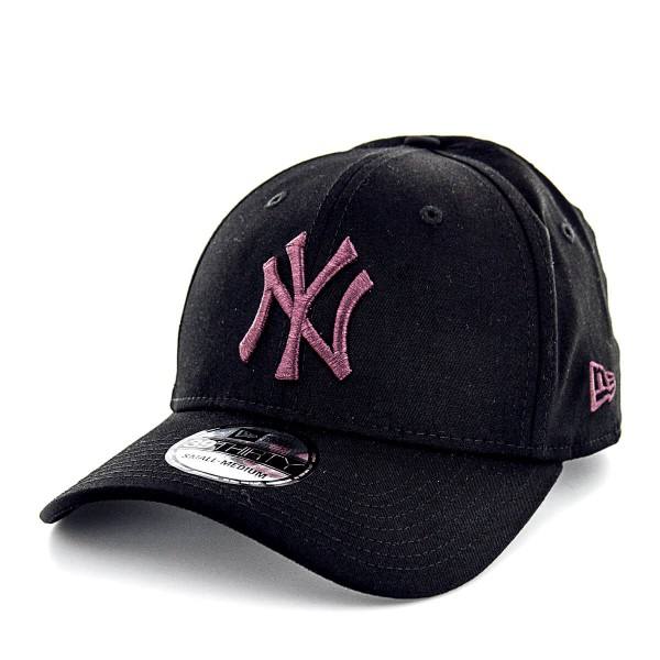 NewEra Cap 39Thirty NY Black Bordo