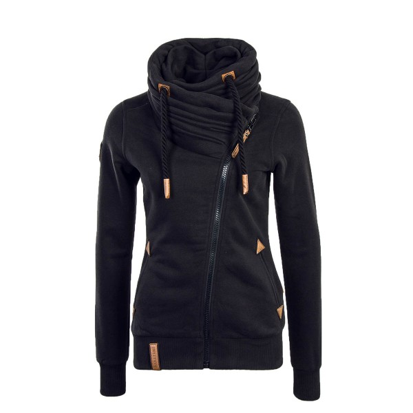 Naketano Wmn Sweatjkt Jedi Path Black