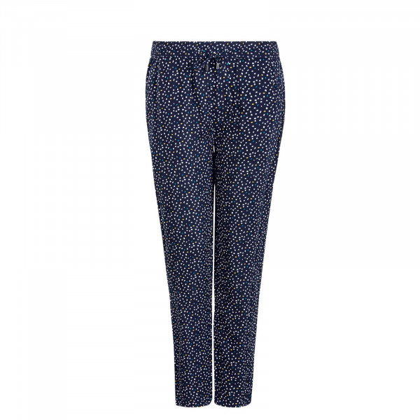 Damen Pant 61869 Dots Navy