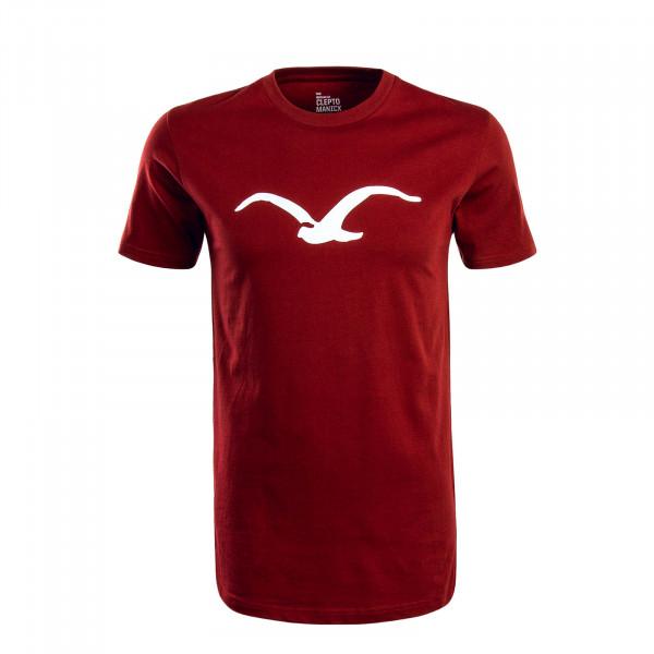 Herren T-Shirt Möwe Merlo Red White