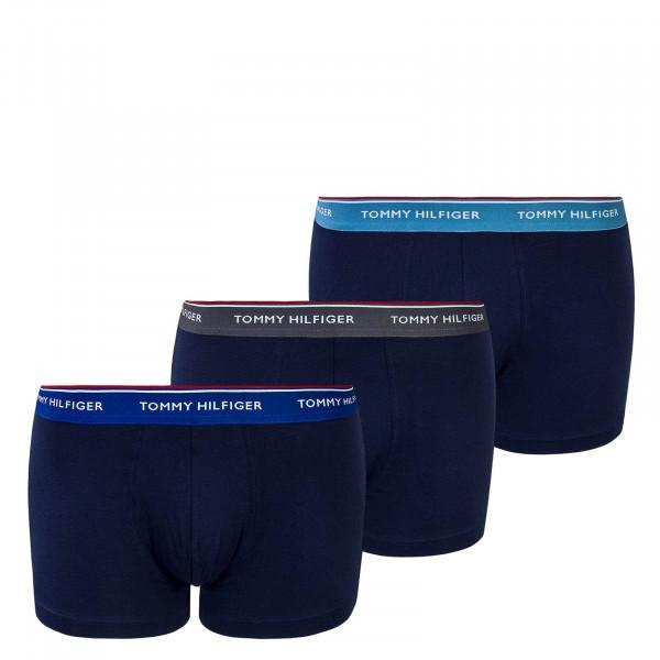 Herren Under Trunk 3 Pack Navy Blue