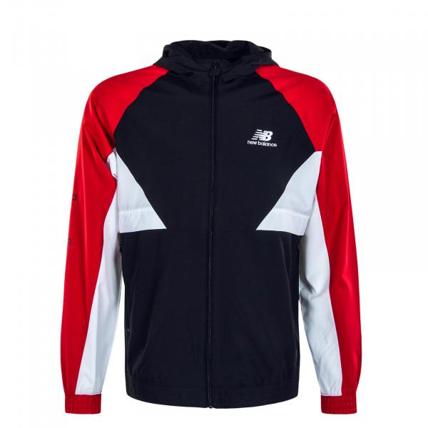 Herrenjacke MJ03502 43 Athletics Podium Red Black White