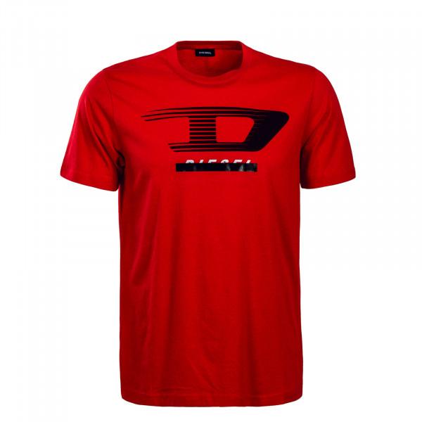 Herren T-Shirt - Just Y4 - Red