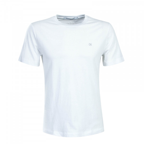 Herren T-Shirt Embroidery Reg White