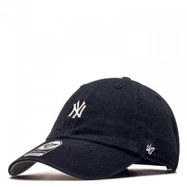 Cap NY Base Runner Black White
