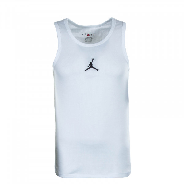 Herren Tank Top Alpha Buzzer Beater White Black