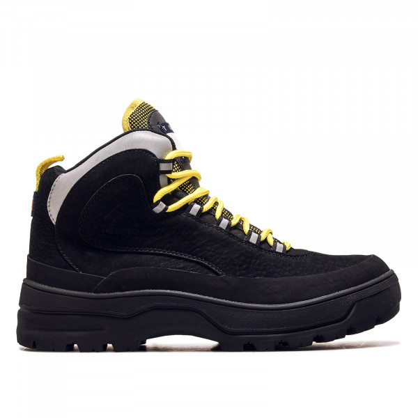 Herren Boot Expedition Black Yellow Grey
