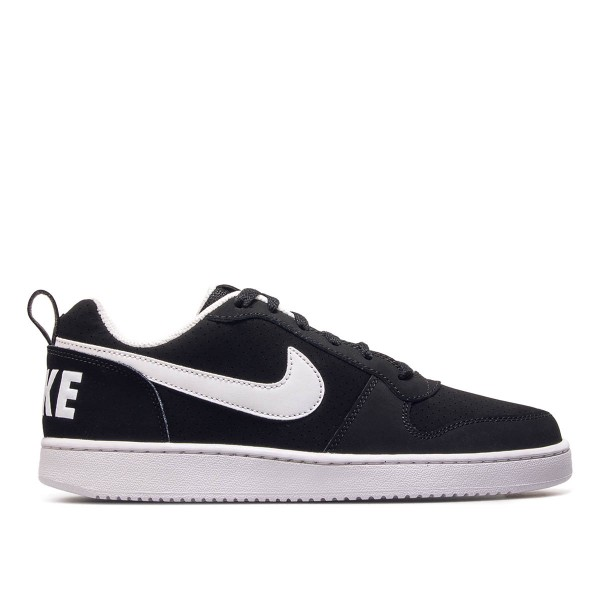 Nike Court Borough Low Black White