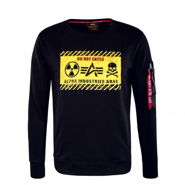 Herren Sweat - Radioactive - Black