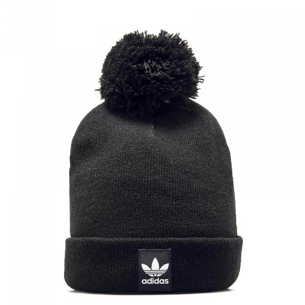 Adidas Beanie Pom Pom Black