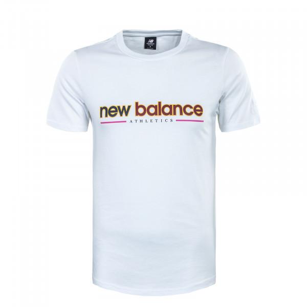 Herren T-Shirt - Essentials Embroidered Tee - White