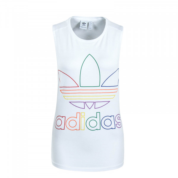 Damen Top Pride White Multi