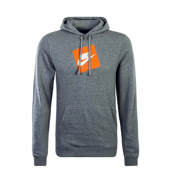 Nike Hoody HBR FLC Grey Orange