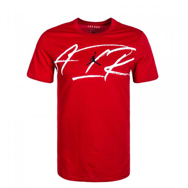 Herren T-Shirt Script Air Dfct Gym Red Black