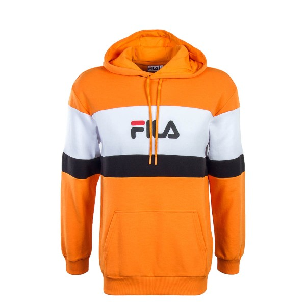 Fila Hoody Thomas Orange Wht Blk