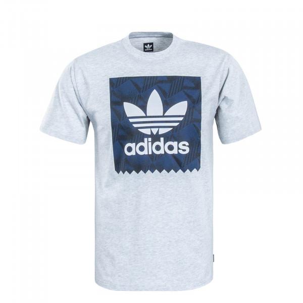 Herren T-Shirt 7362 Grey Navy White