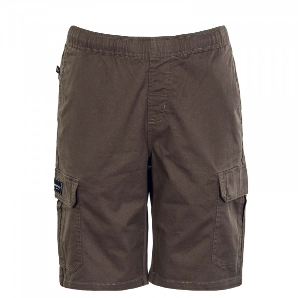 Herren Short - Work N Roll Short - Olive / Grey