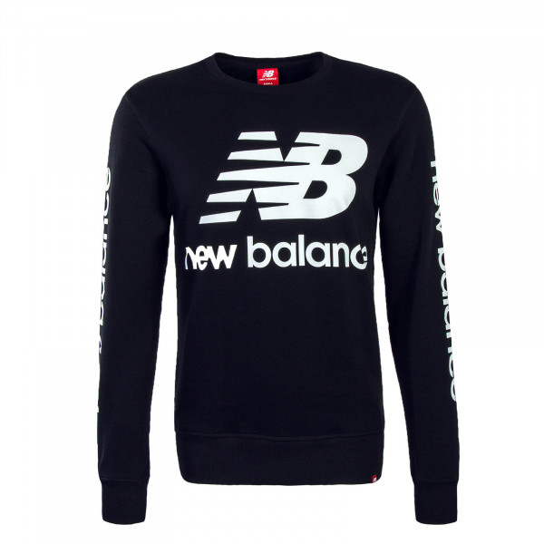 New Balance Sweat Logo Crew Black