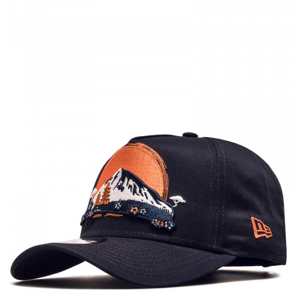 Cap Far East Navy Orange