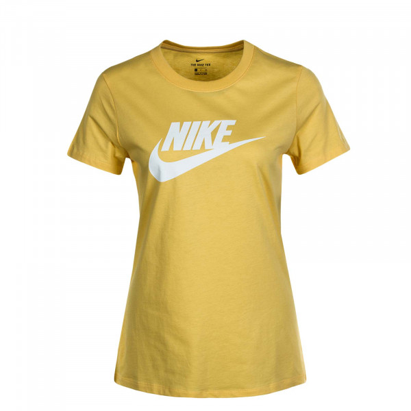 Damen T-Shirt NSW Essential Icon Fut Yellow