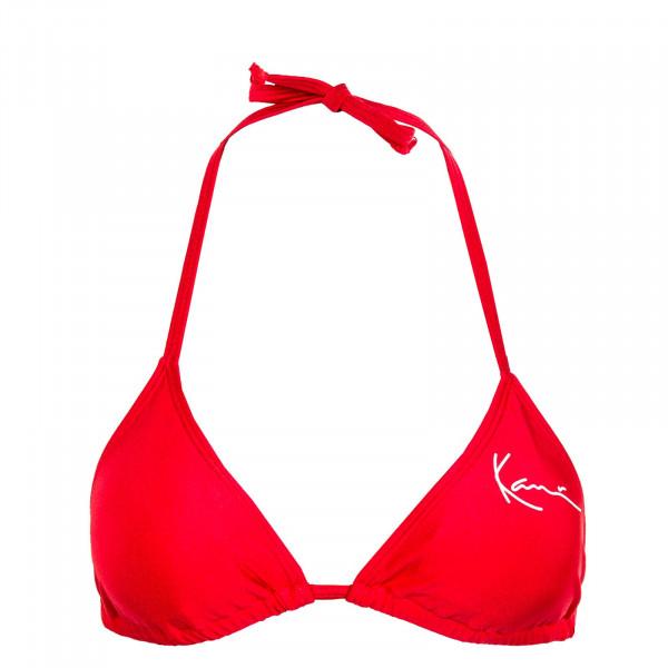 Damen Bikini Top - Triangle - Red