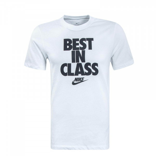 Herren T-Shirt Best In Class White Black