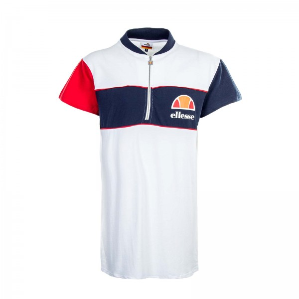 Ellesse Dress Polo Elisabette White Navy